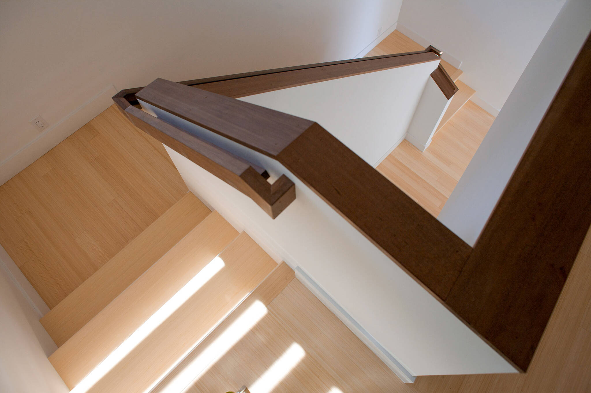 Star railing detail of the sustainable lake house project in Omena, Michigan designed by the architecture studio Danny Forster & Architecture