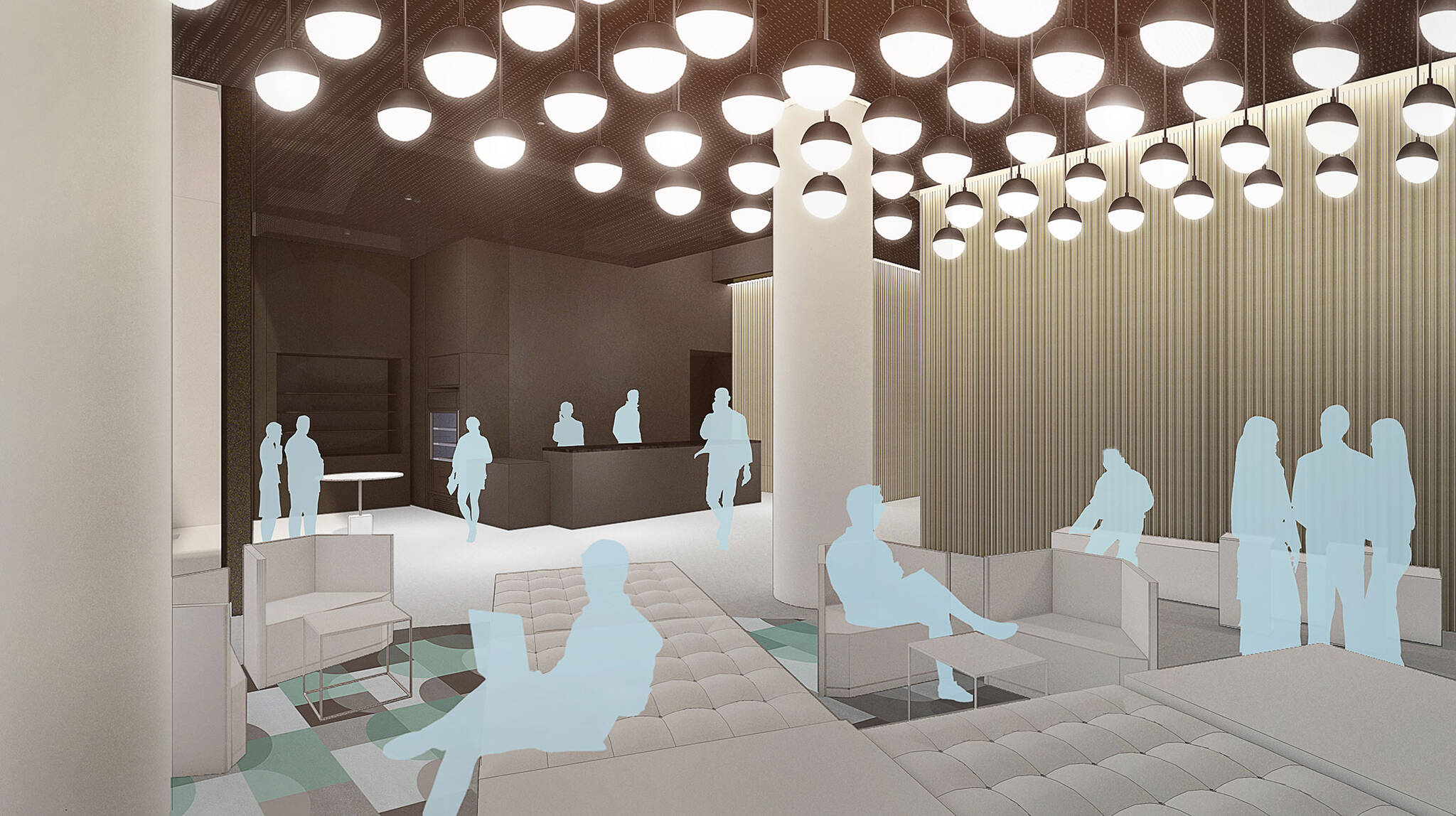 Interior walkthrough of the Modular AC Hotel project located at 842 Sixth Avenue in NoMad, New York City designed by the architecture studio Danny Forster & Architecture