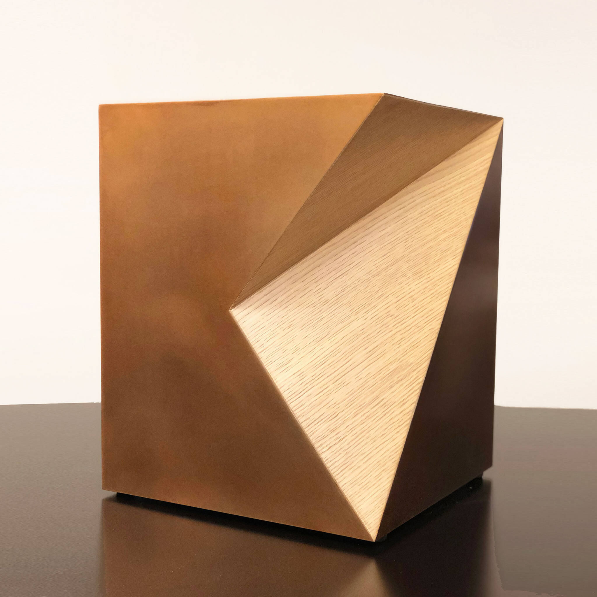 Side table of a guestroom module of the Modular AC Hotel project located at 842 Sixth Avenue in NoMad, New York City designed by the architecture studio Danny Forster & Architecture
