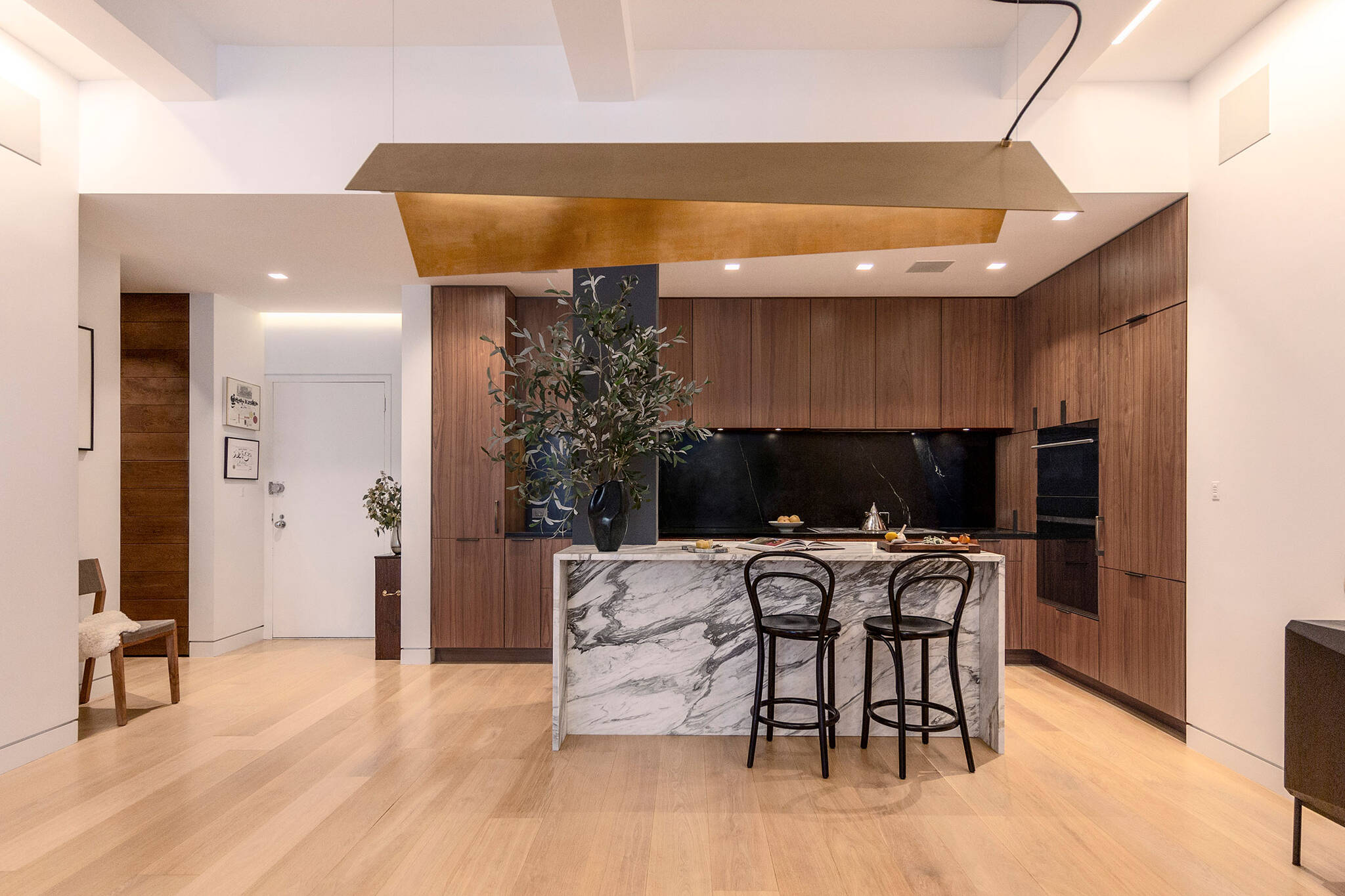 Loft renovation project in Chelsea, New York City designed by the architecture studio Danny Forster & Architecture
